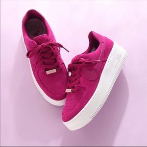 NWT ❤️ Rare Nike Air Force 1 Sage Berry Purple